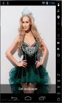 Blonde Beauty Queen Live Wallpaper screenshot 2/2