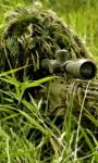 Sniper in the Bush Live Wallpaper screenshot 1/4