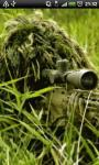 Sniper in the Bush Live Wallpaper screenshot 2/4