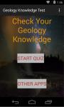 Geology knowledge test screenshot 1/4