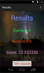 Geology knowledge test screenshot 4/4
