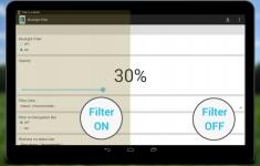 Blauw licht filter PRO proper screenshot 1/6