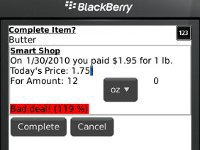 Shopping Buddy screenshot 1/1