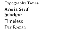 ★ Serif for FlipFont® free screenshot 1/1