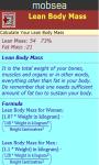 Lean Body Mass Calculator v-1 screenshot 3/3