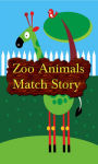zoo animals match Story game free screenshot 1/4