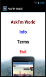 Ask_fm World screenshot 2/4