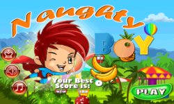 NaughtyBoy Kids Game screenshot 1/5