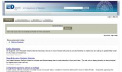 Department of Education screenshot 1/1