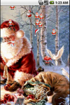 Santa Claus Christmas Live Wallpaper screenshot 3/4