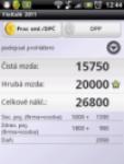 Financni kalkulacka 2011 screenshot 1/1
