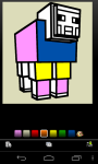 Minecraft coloring screenshot 3/6