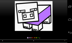 Minecraft coloring screenshot 6/6