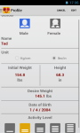 BMI and Weight Control screenshot 2/6