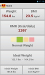 BMI and Weight Control screenshot 4/6