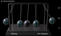 Newtons cradle Live Wallpaper  screenshot 3/5