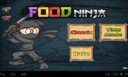 Food Ninja Cutting screenshot 2/3
