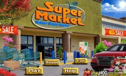 Free Hidden Object Games - Supermarket screenshot 1/4