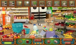 Free Hidden Object Games - Supermarket screenshot 3/4