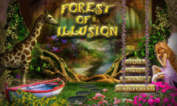 Free Hidden Object Game - Forest of Illusion screenshot 1/4