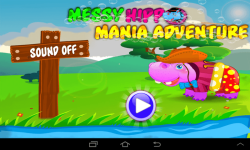 Messy Hippo Mania Adventure screenshot 1/5