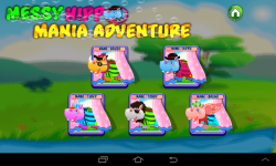 Messy Hippo Mania Adventure screenshot 2/5