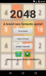 a2048 screenshot 1/3
