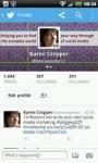 Twitter Mobile New screenshot 1/6