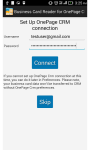 Business Card Reader for OnePage CRM screenshot 1/6