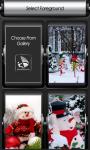 Snowman Zipper Lock Screen Best screenshot 3/6