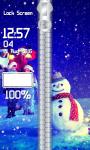 Snowman Zipper Lock Screen Best screenshot 4/6