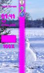 Snowman Zipper Lock Screen Best screenshot 6/6