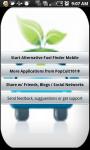 Alternative Fuel Finder screenshot 3/3