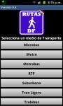Mexico DF's Routes screenshot 1/4