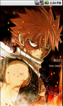 Natsu Fairy Tail Live Wallpapers screenshot 1/5