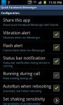 Quick Facebook Messenger screenshot 2/4