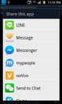 Quick Facebook Messenger screenshot 4/4