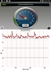 Sound Meter Deluxe screenshot 1/5