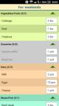 Shopping List Lite version screenshot 1/1