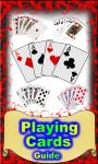 Playing cards guide screenshot 1/4