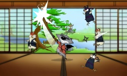 Samurai Tanuki FREE screenshot 2/3
