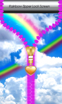 Rainbow Zipper Lock Screen Best screenshot 1/6