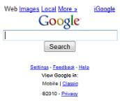 Google screenshot 1/1