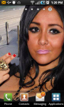 Snooki Live Wallpaper screenshot 2/3