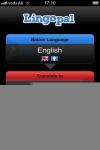 Lingopal Portuguese LITE - talking phrasebook screenshot 1/1