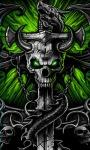 Dark Dragon Cross Live Wallpaper screenshot 1/3