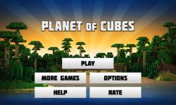 Planet of Cubes screenshot 1/6