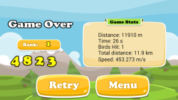 Flappy Scrappy Learns To Fly screenshot 5/6