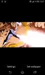 DragonBall Z Fight Live Wallpaper screenshot 2/5