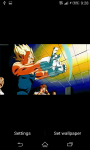 DragonBall Z Fight Live Wallpaper screenshot 3/5